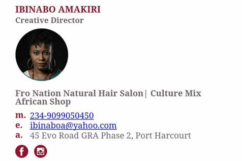 email signature of Ibinabo