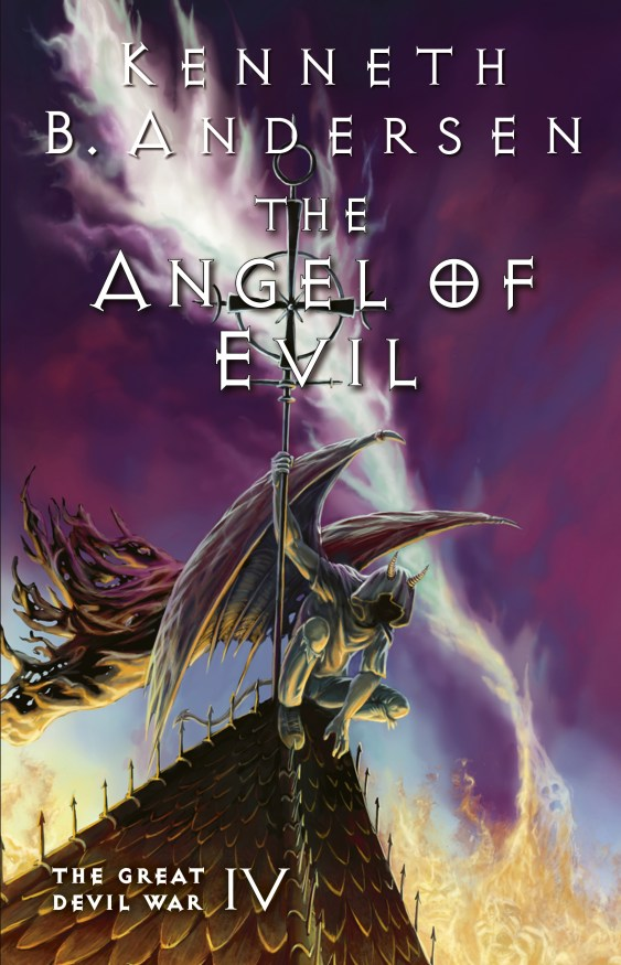 The angel of evil cover