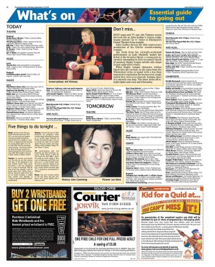 Abi Titmus in the Halifax Courier