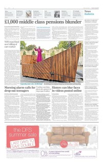 The Archbishop of York, Dr. John Sentamu aboard an Ark for the York Mystery Plays - The Daily Telegraph - July 2012