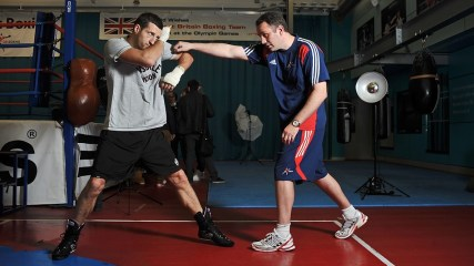 Boxer Carl Froch prepares for the World Super Six Series in Atlantic City
