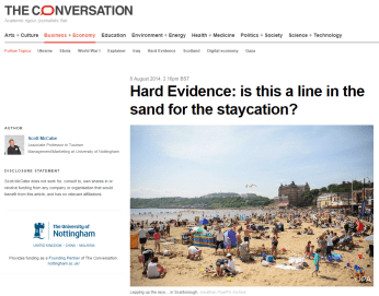Seen in an article on Conversation's website: I help brighten statistics with interesting photography!