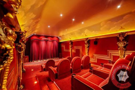 Art deco home cinema, Ludhill House