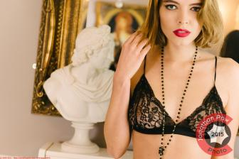Fashion Photographer - Christina Forte lingerie look book - Nymphalia