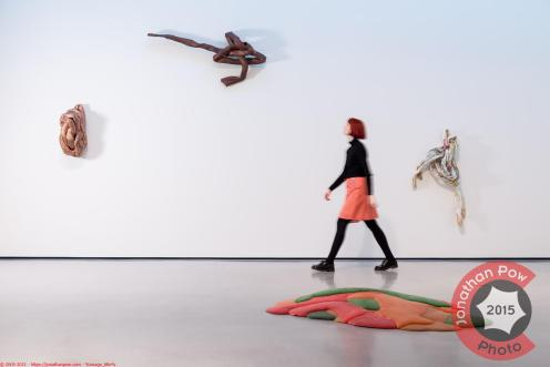 The UK's largest exhibition to-date of American artist Lynda Benglis exhibition at the Hepworth Wakefield