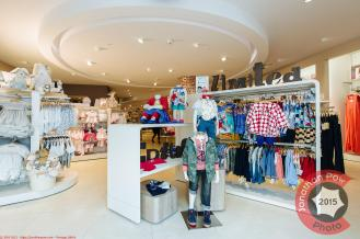 Interior of Mamas and Papas new flagship store in Leeds Trinity