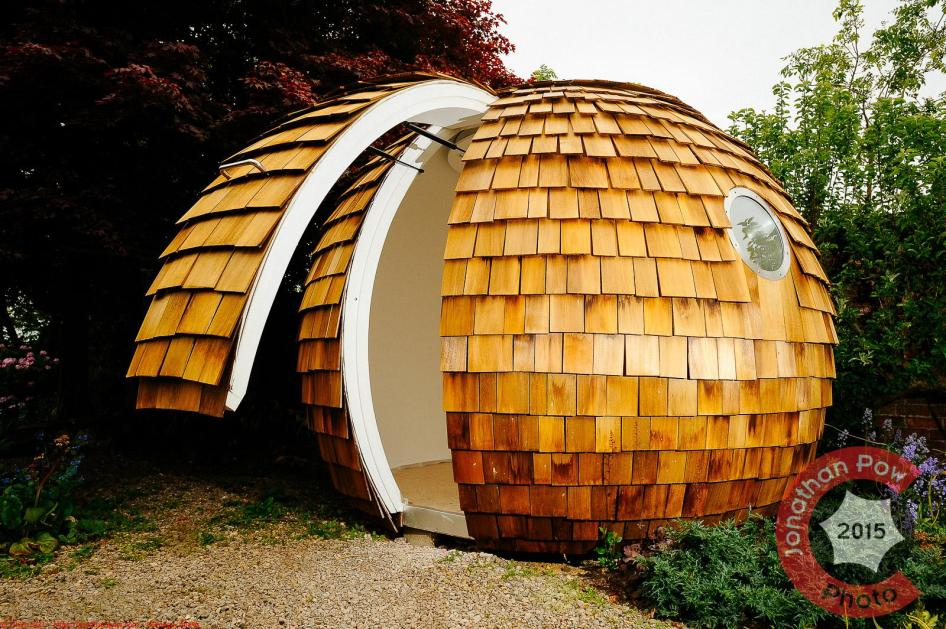 The high tech Archipod by architect Chris Sneesby