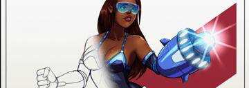 Dualmask's Random Line Art Babes