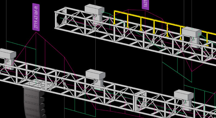 Vectorworks Spotlight Analysis with Braceworks