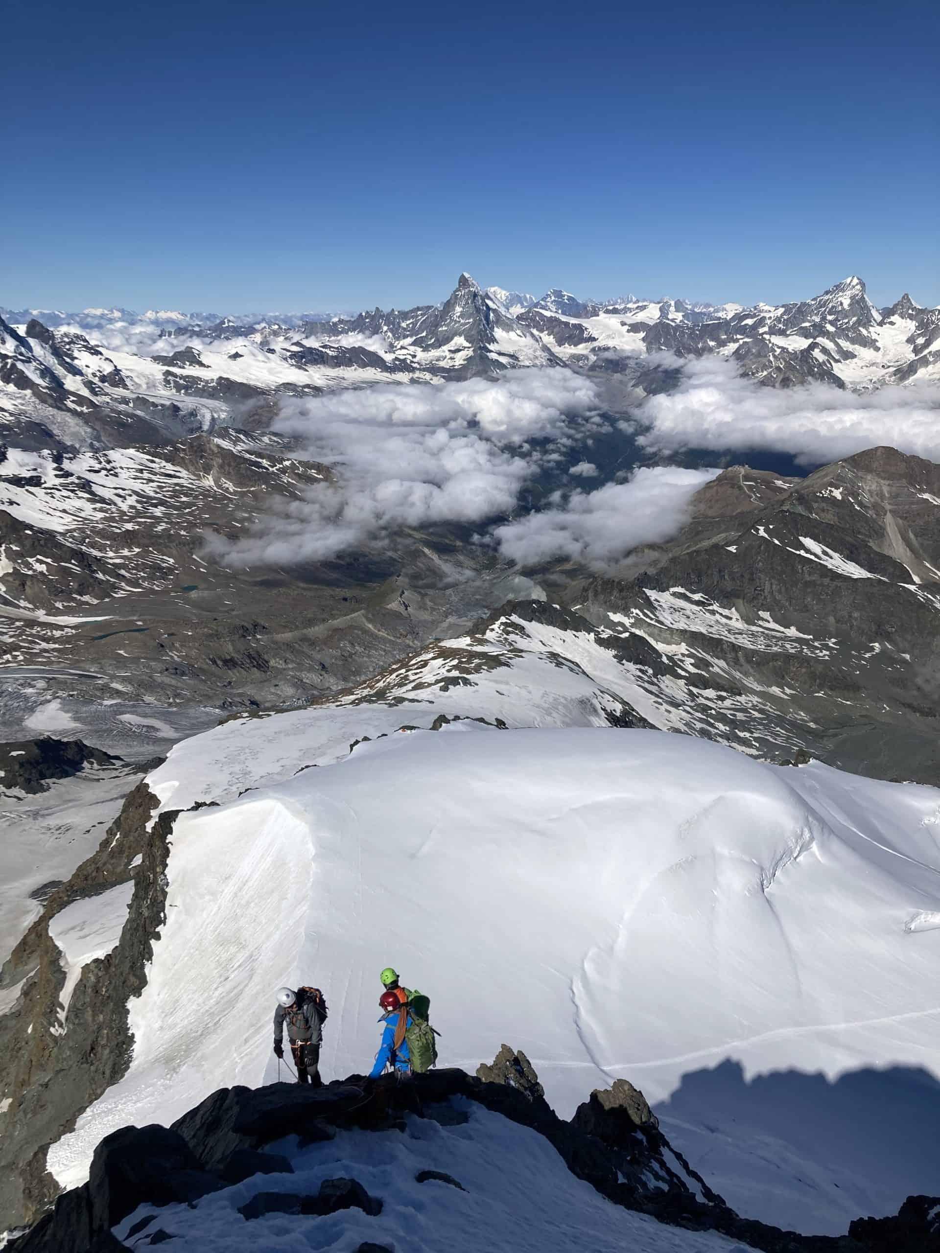 IMG 5831 scaled - Bergsteigen im Wallis - das Bergsteigerparadies?