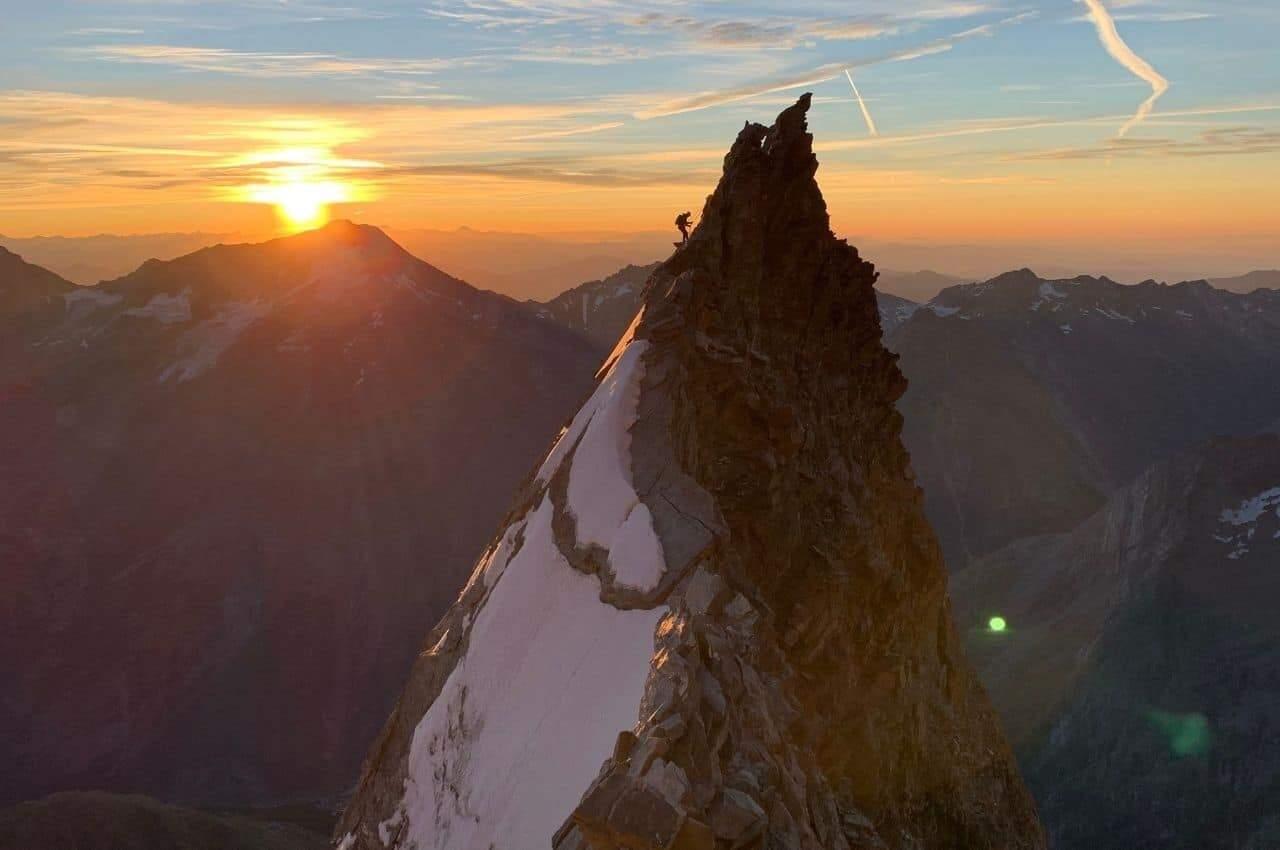 Titelbild Lenzspitze - Tourenbericht Lenzspitze – Nadelhorn