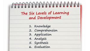 6 Levels of Learning and Development