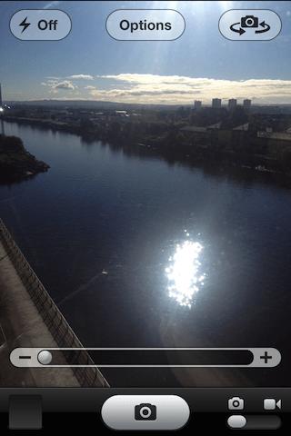 iphone camera zoom