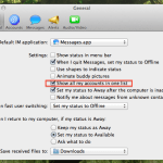 How to merge or show all imessage contacts in one window or contact list