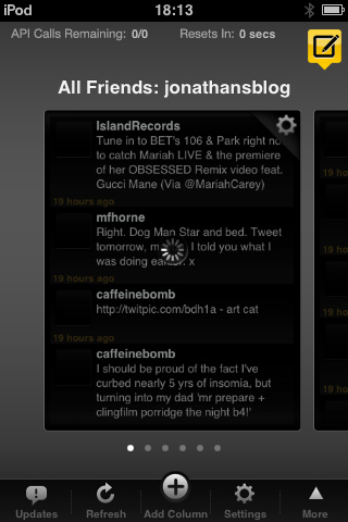 Read more about the article Tweetdeck – iphone ipod touch twitter app freeware alternative to tweetie