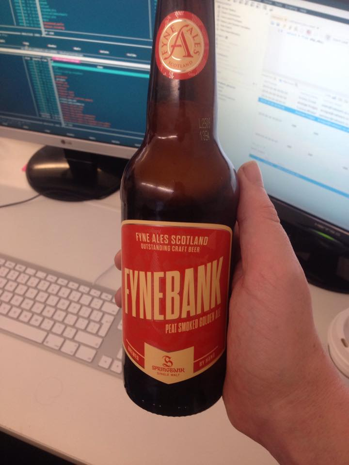 Read more about the article FyneBank Peat Smoked Golden Ale