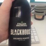 Fallen Brewing BLACKHOUSE SMOKED PORTER