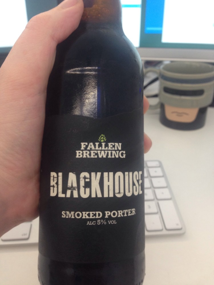 Fallen Brewing BLACKHOUSE SMOKED PORTER