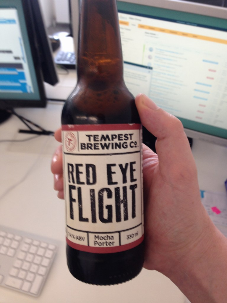 Read more about the article Tempest Brewing Co Red Eye Flight