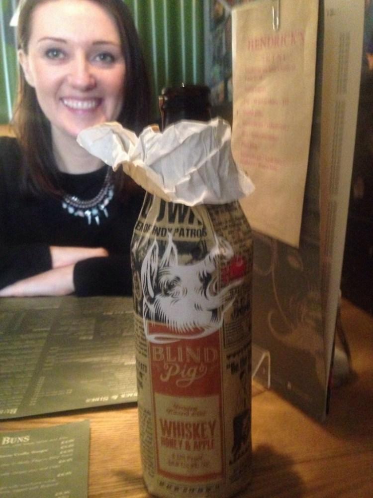 Blind Pig Whisky Honey and Apple Cider