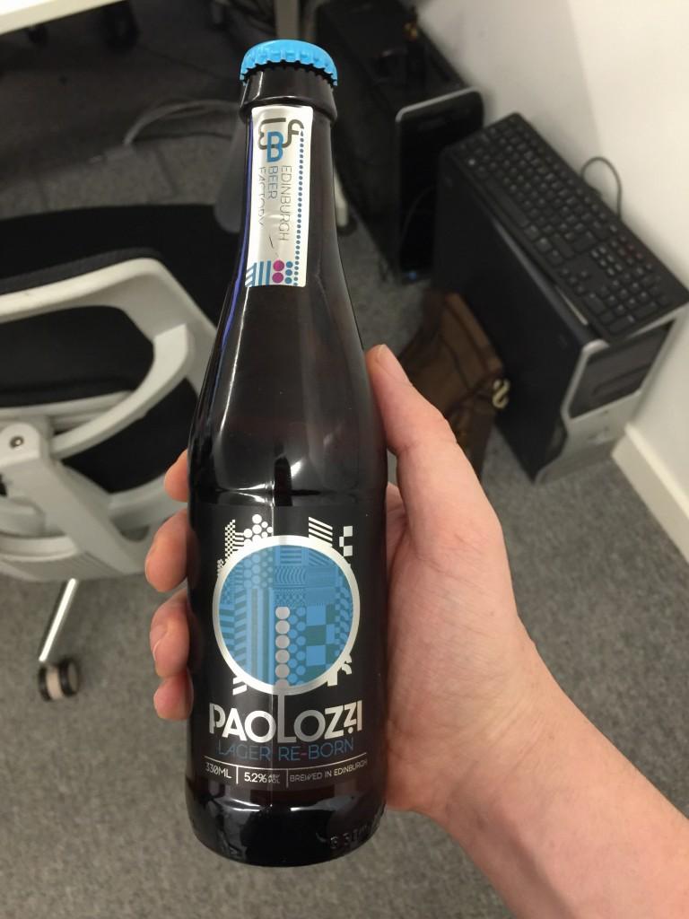 Edinburgh Beer Factory Paulozzi