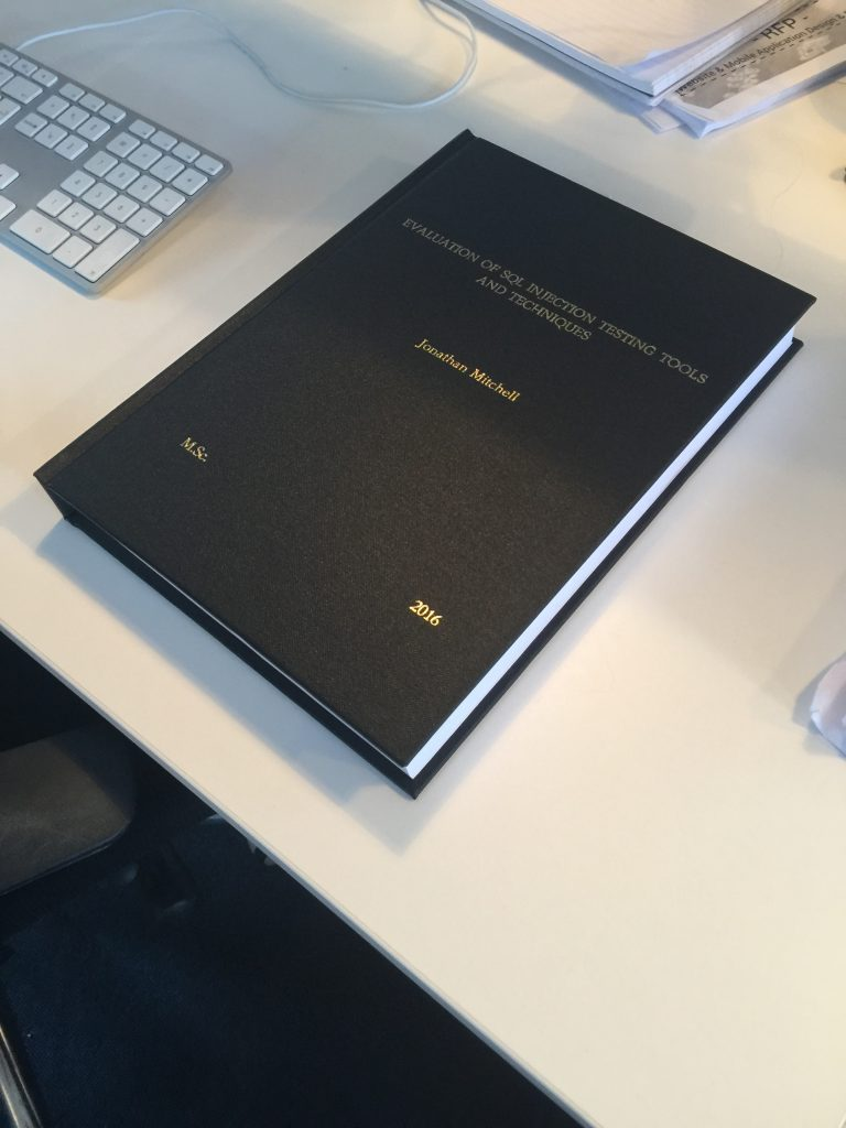 MSc thesis