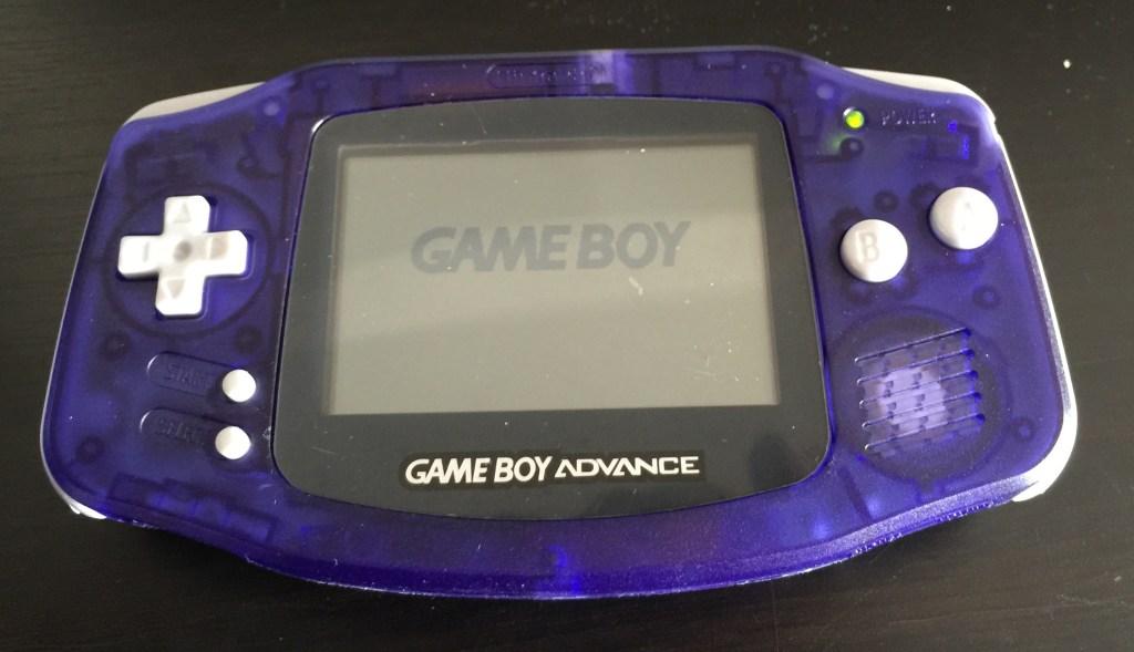 Gameboy Advance case shell change