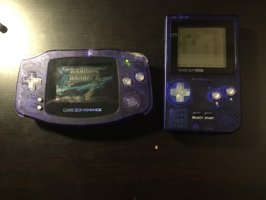 Gameboy Advance custom buttons mod