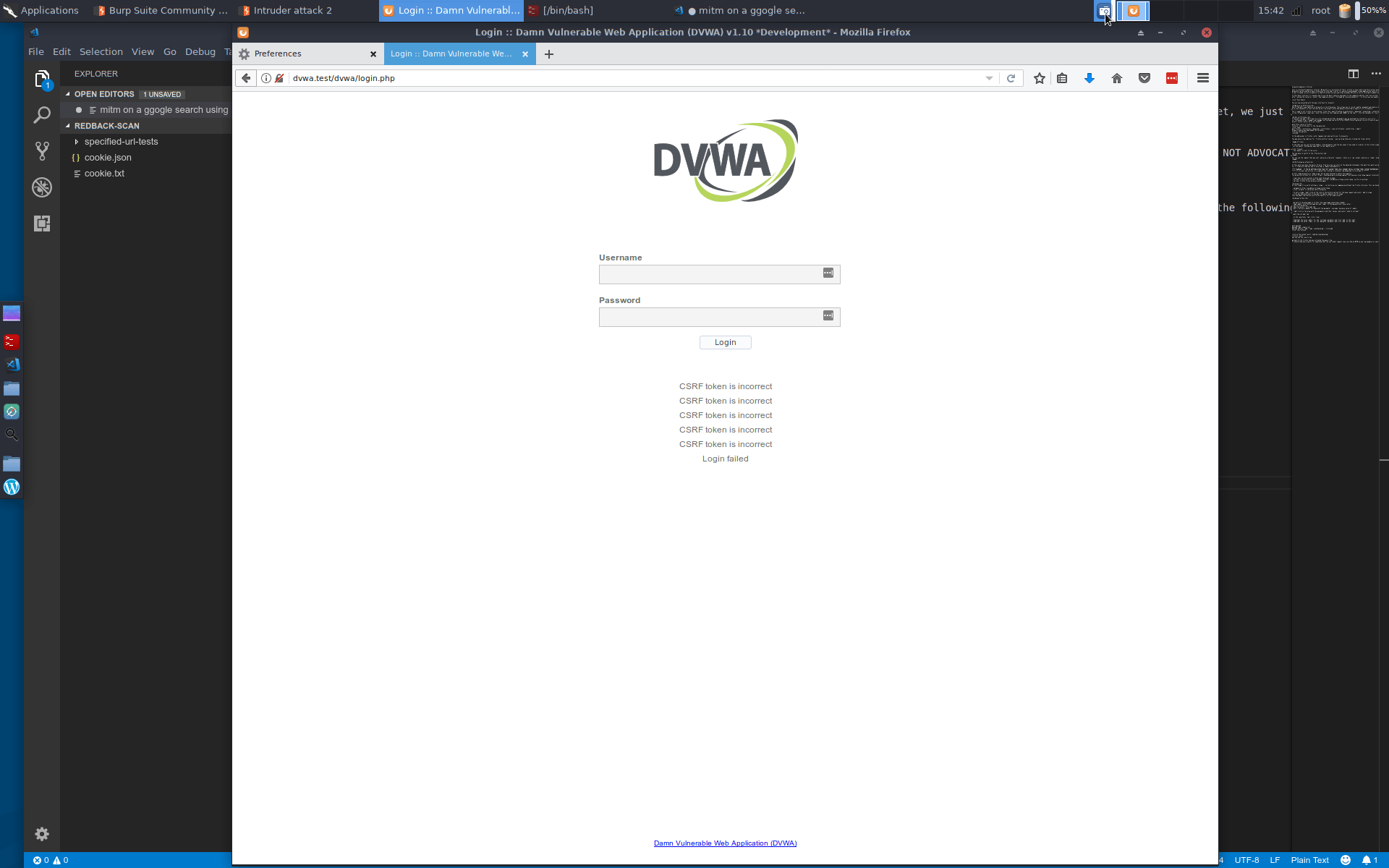 Read more about the article DVWA vagrant