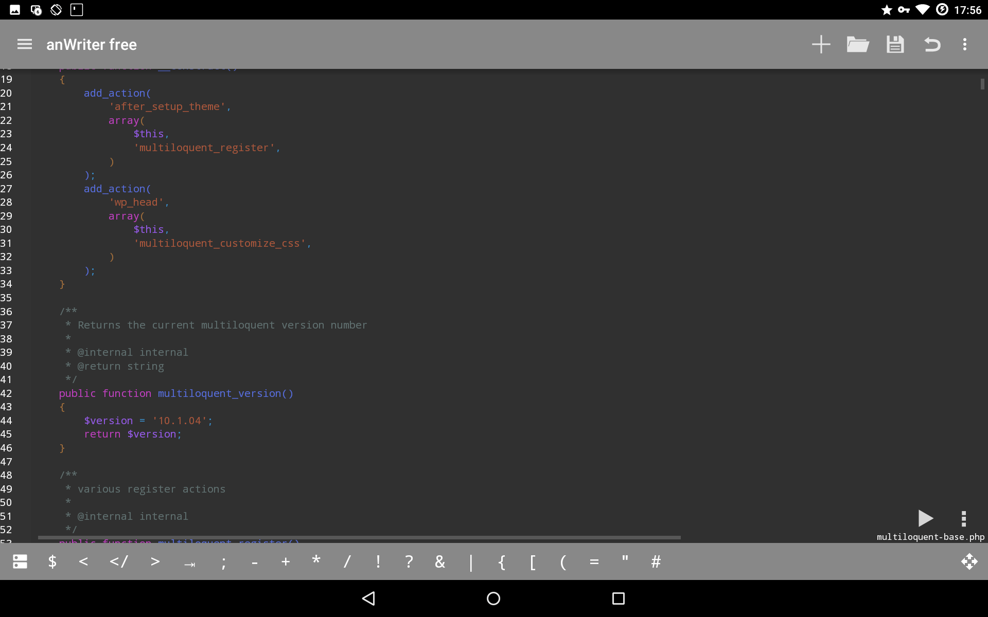 Coding in php on android is possible - see how in this article