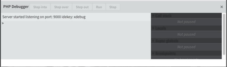 Read more about the article xdebug in brackets editor