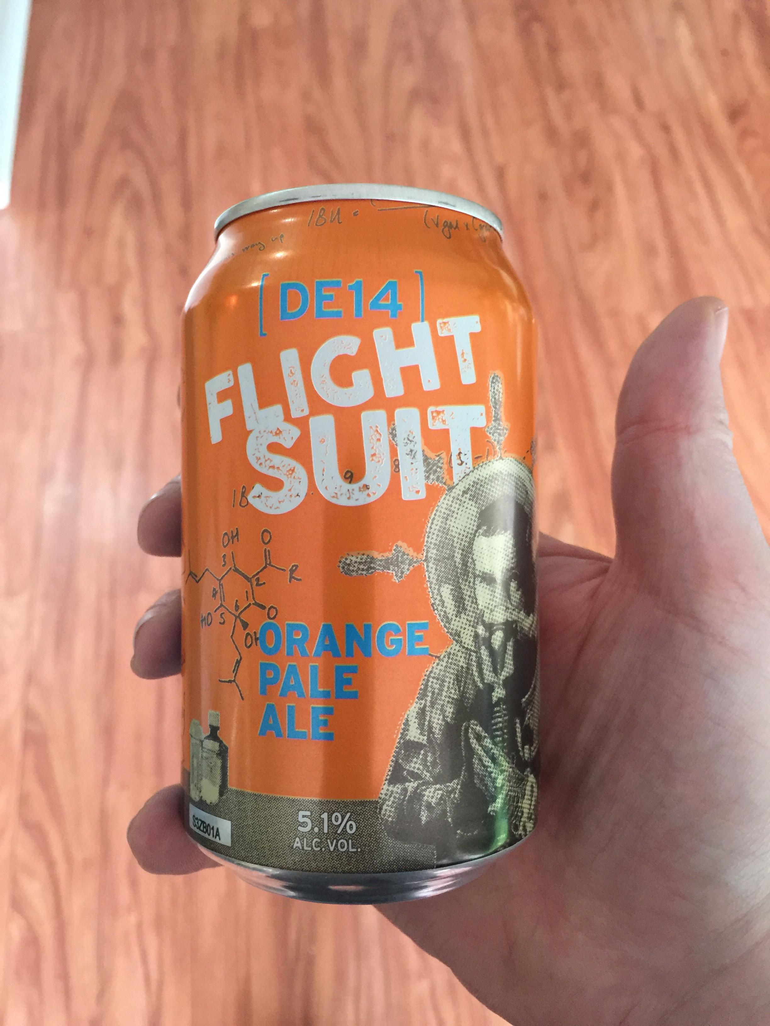 Read more about the article DE14 Flight Suit Orange Pale Ale