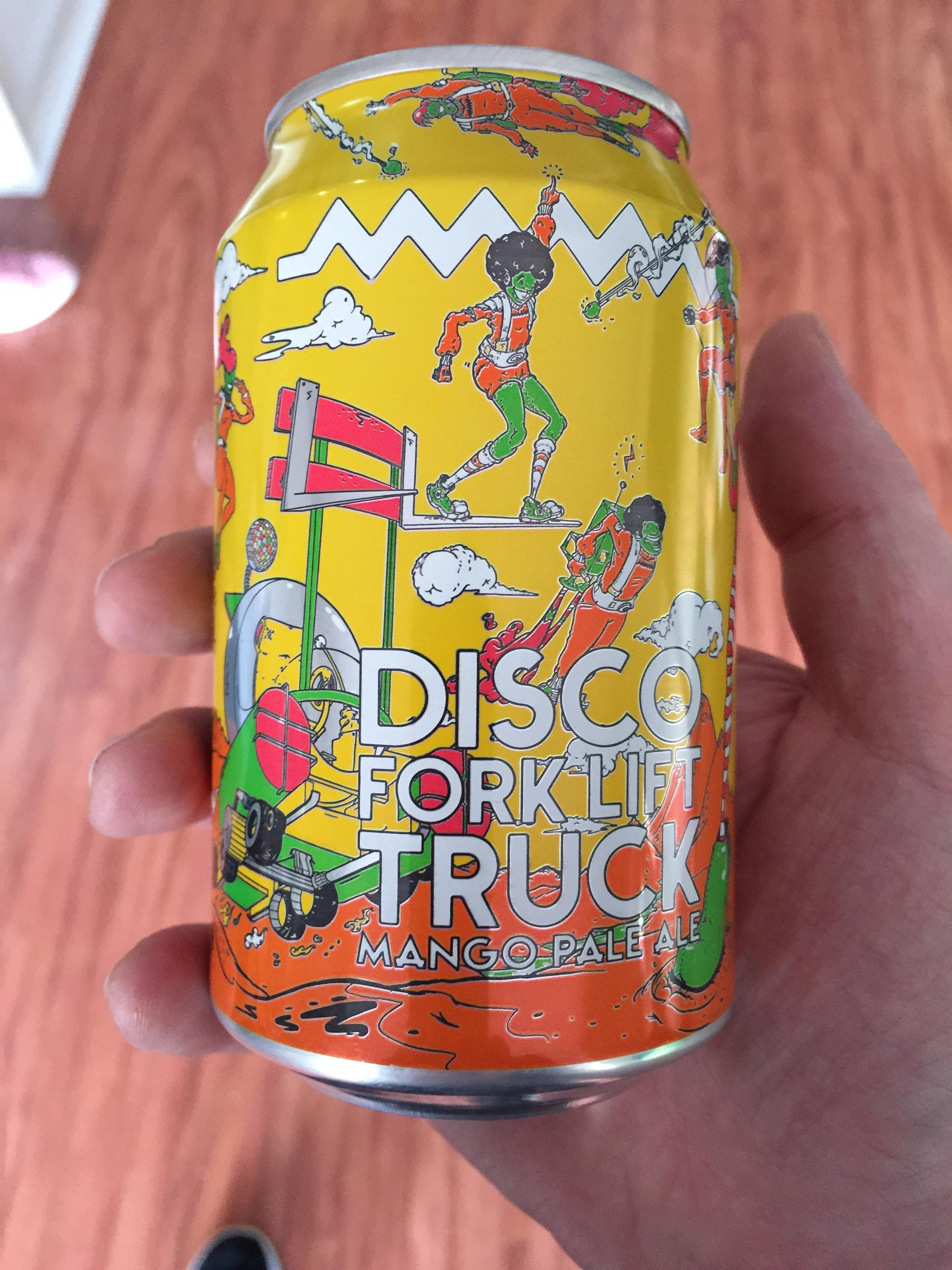 Read more about the article Disco Forklift Truck Mango Pale Ale