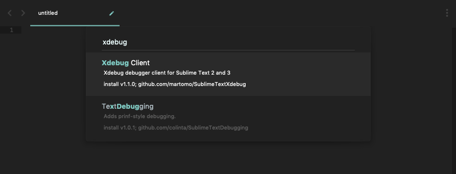 install xdebug extension.png