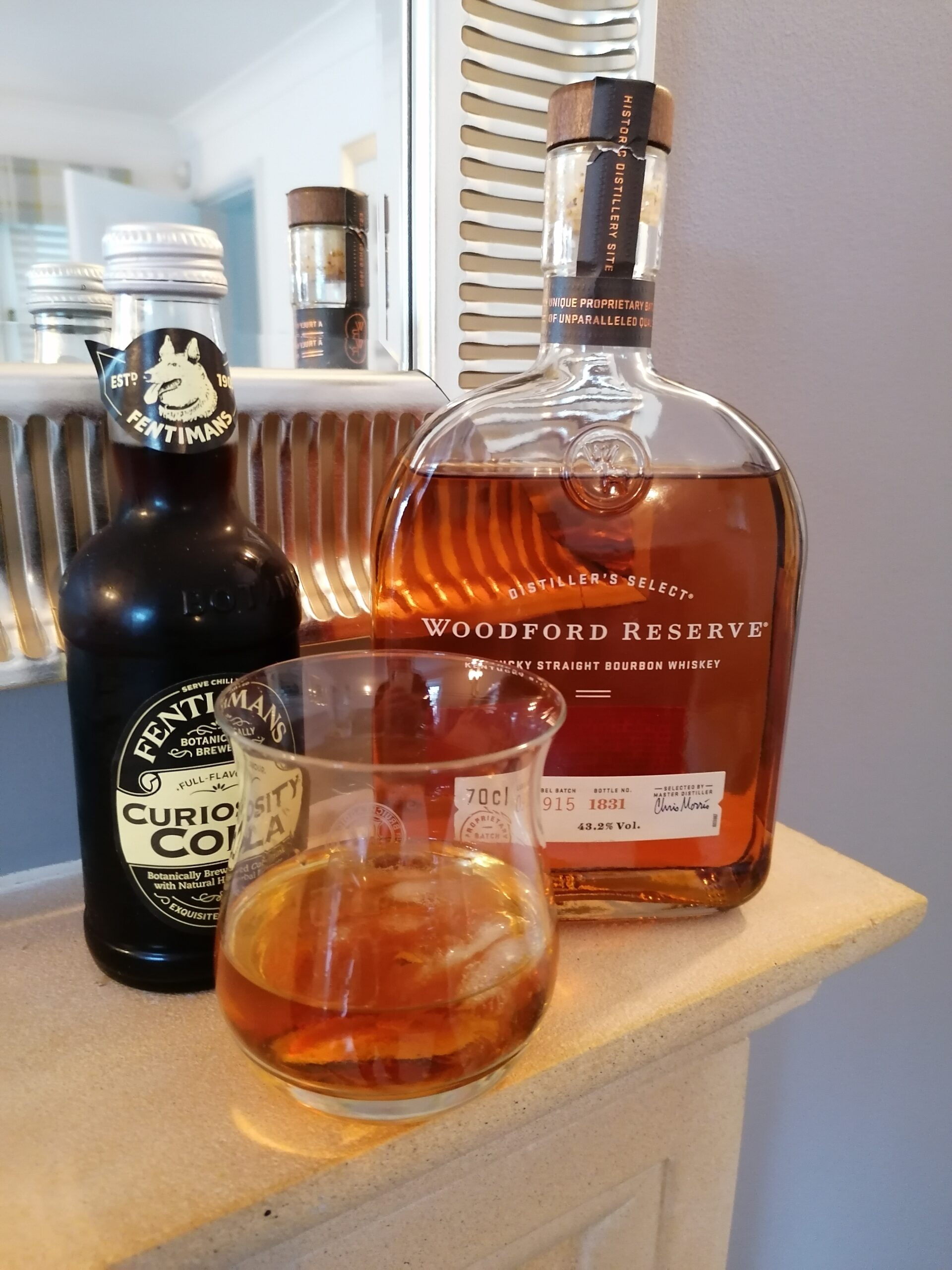 Read more about the article Woodford Reserve and Fentimans Curiosity Cola!