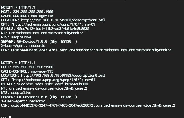 Investigating uPNP with Python