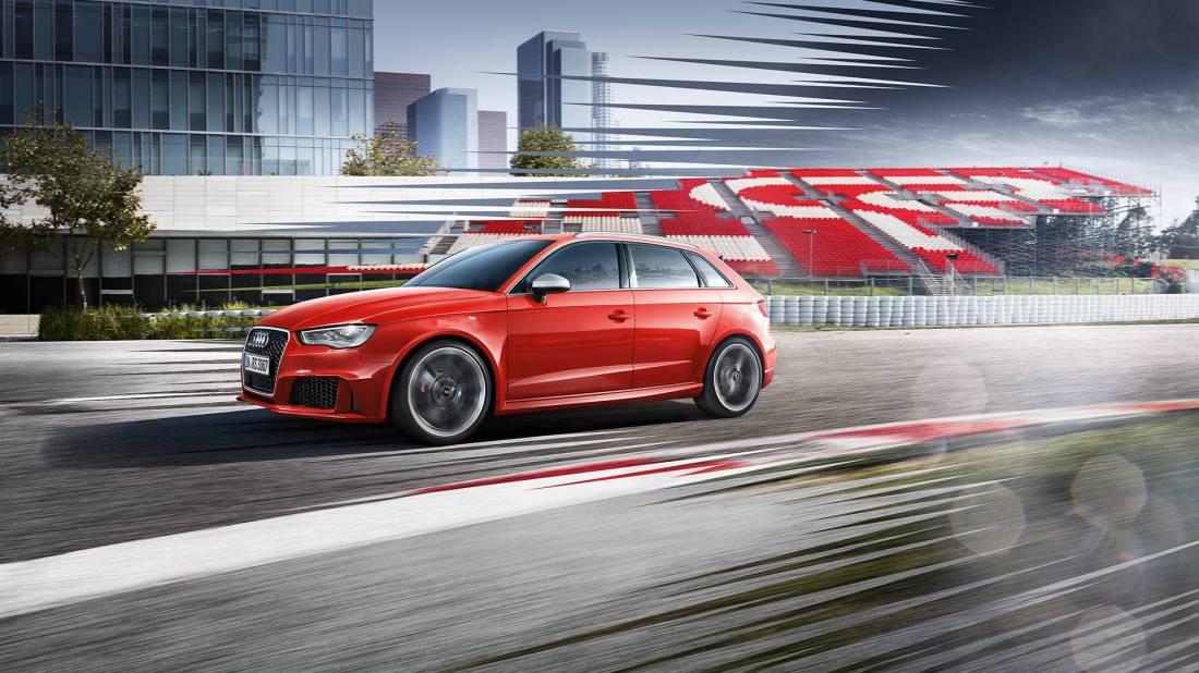 Audi RS3 Kampagne: Entwicklung einer Look-Idee