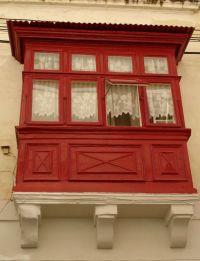 A Maltese balcony