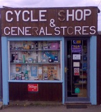 Cycle Shop and General Stores in Long Hanborough