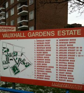 Vauxhall Gardens Estate: A long way from Vauxhall, Strauss and Tchaikovsky, but not that far