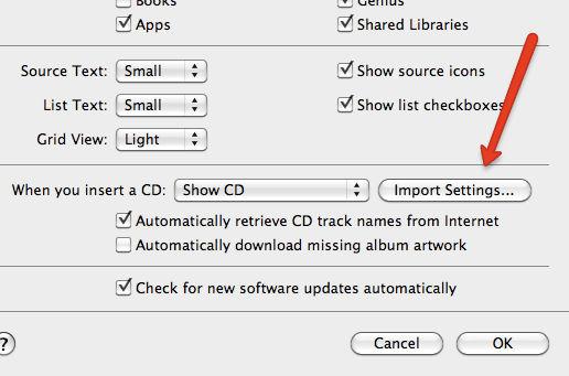 how to put mp3 files into new itunes library