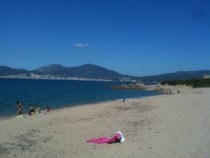 Oh I do like to be beside the seaside: picture of beach in Corsica
