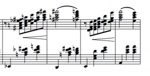 Adieu - Romance sem palavras by Ernesto Nazareth. Bars 6-8 of the tune.