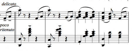 Segment of the polka mazurka for ballet class