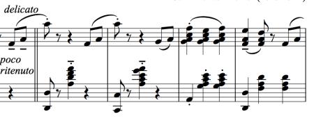 Segment of the polka mazurka for ballet class