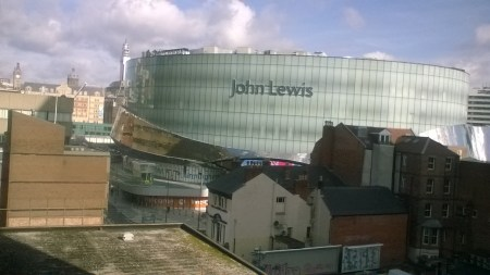 John Lewis, Birmingham: colonizing the attentional commons with a massive logo and an oversized building