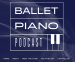 Logo of the Ballet piano podcast