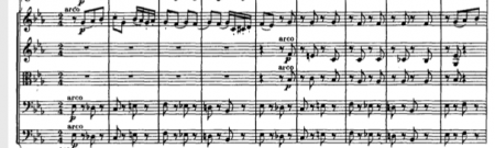 Extract of full score of Nureyev's Siegfried solo in Act 2 of Swan Lake