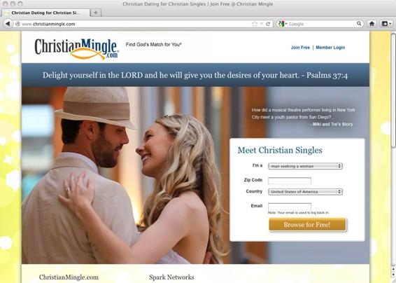 Gratis christian dating mingle