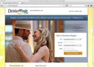 Christian Mingle screengrab
